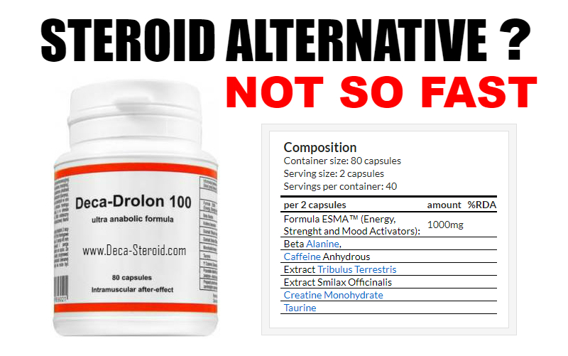 Is Deca-Drolon A Steroid Alternative
