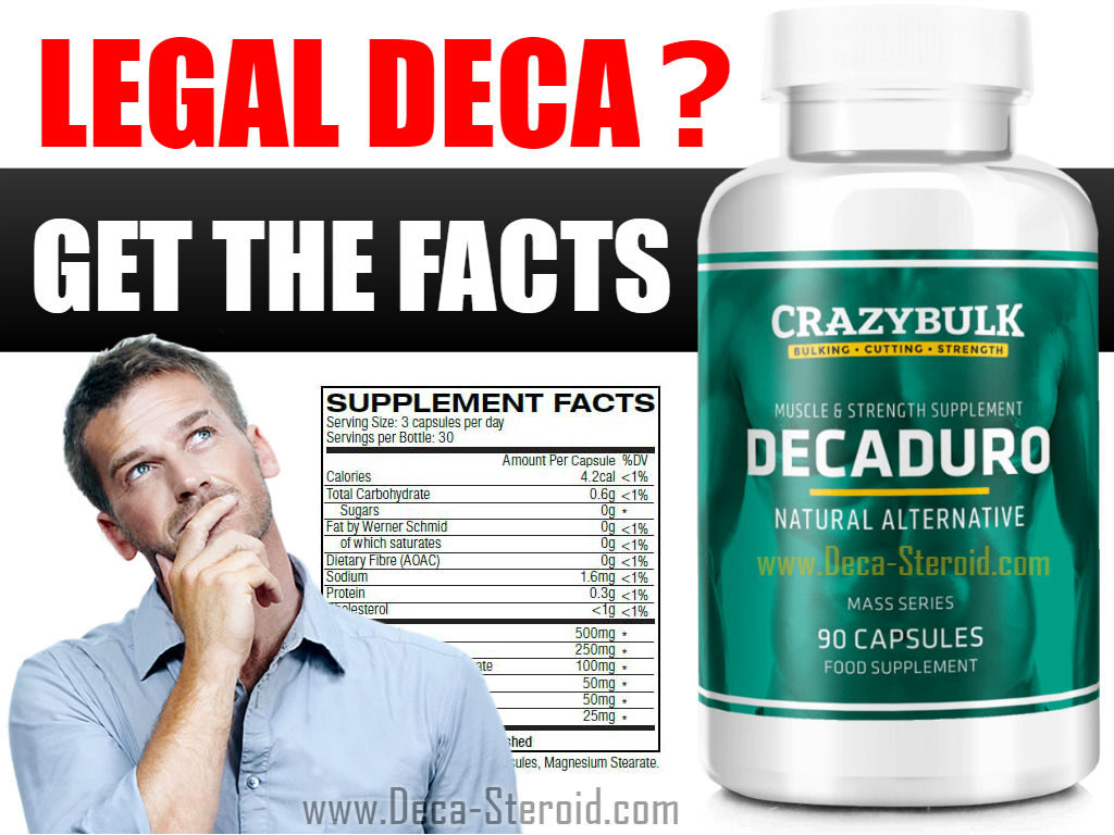 Deccabolan and DecaDuro Supplements