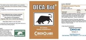 Deca-Bol by CibexoLabs.com